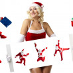 Christmas Santa Clause — Stock Photo