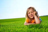 Little adorable girl — Stock Photo
