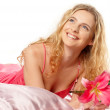 Стоковое фото: Portrait of fresh and beautiful woman