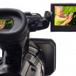 Digital video camera - Stock Photo