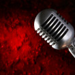 Retro Microphone — Stock Photo #6007943