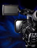 Digital video camera — Stock Photo