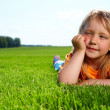 Little adorable girl - Stock Photo