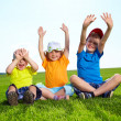 Happy boys and girl — Stock Photo #6039558