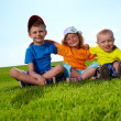 Happy boys and girl — Stock Photo #6039590