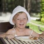 Child Breakfast. — Stock Photo #6258152