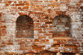 стены ретро кирпичей для искусства фона — Стоковое фото