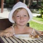 Child Breakfast. — Stock Photo #6276398