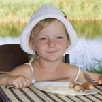 Child Breakfast. — Stock Photo #6276426