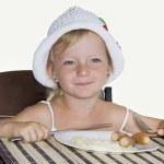 Child Breakfast. — Stock Photo #6279044