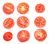 Tomatoes slices — Stock Photo