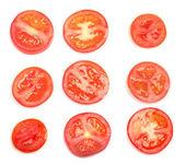 Tomatoes slices — Stock Photo