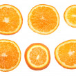 Stock Photo: Fresh orange slices