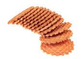 Una pila de galletas de barquillo — Foto de Stock
