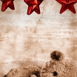 Teddy bear and stars - Stock Photo