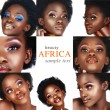Collage of African woman — Stock Photo #5395817