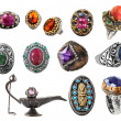 Collection of rings. — Stock Photo #5395947