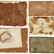 Grunge papers collection. - Stock Photo