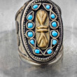 Turkish tribal ring — Stock Photo
