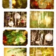 Stock Photo: Christmas postcards