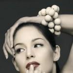 Vinatge beautiful woman — Stock Photo #5396264