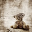 Grunge teddy bear. — Stock Photo #5396273