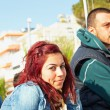 Turkish couple in Kusadasi — Stock Photo #5396555