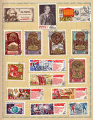Soviet postage stamps 1970 — Photo