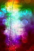 Efekt bokeh jasne światło ze światła i bloki koloru — Zdjęcie stockowe