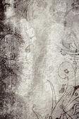 Grunge 页与纹理和设计 — 图库照片