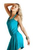 Beautiful blond model — Stock Photo