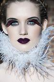 Goth beauty — Stock Photo