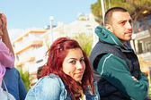 Turkish couple in Kusadasi — Stock Photo