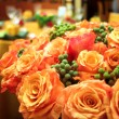 Orange roses — Stock Photo #5411427