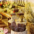 Flower market in France - Stock Photo