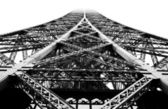 Close-up design of Eiffel Tower — Stock Photo
