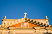 Christian chapel roof — Stock Photo