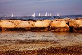 Boat race — Stock Photo