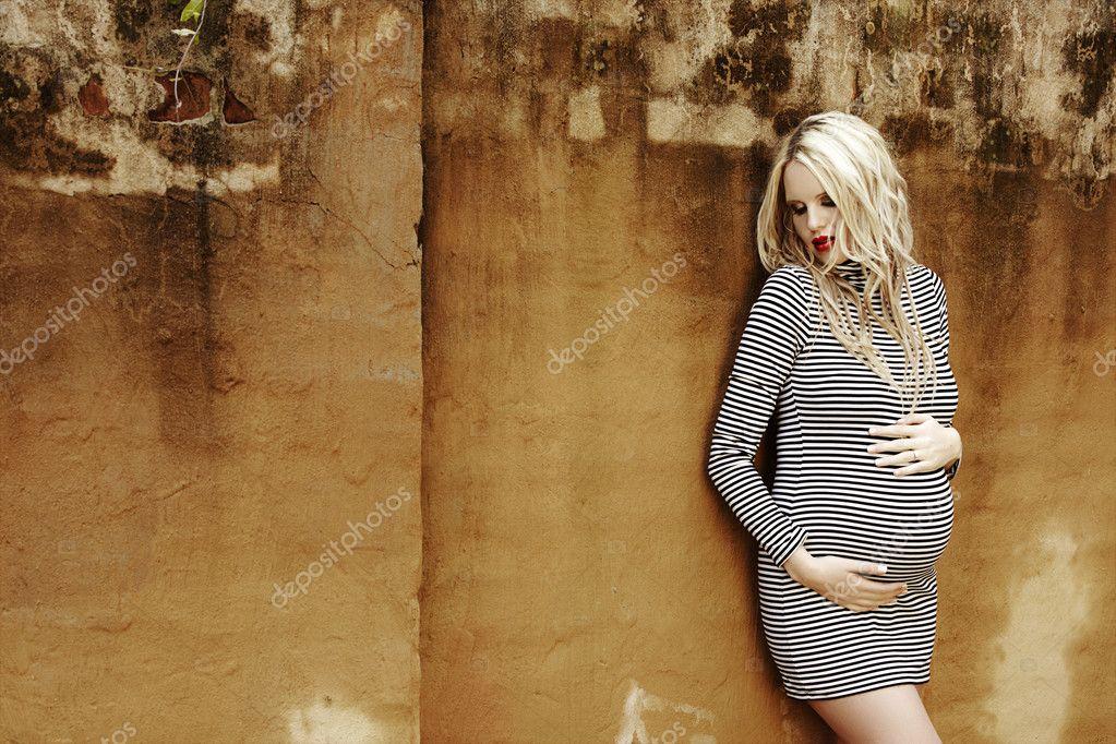Картинки беременной девушки блондинки 788