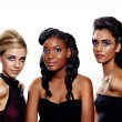 Fashion women of different races - Stockfoto