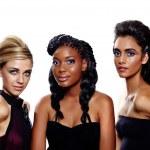mulheres moda de diferentes raças — Foto Stock