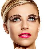 Vogue long lashes — Stock Photo