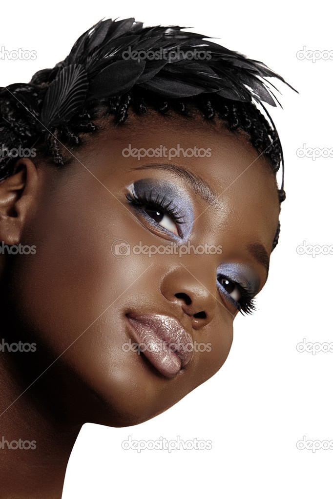 African Woman Beautiful Face Stock Photo 169 Lubavnel 6124126