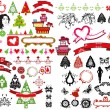 Christmas icons — Stock Photo #6348921