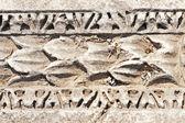 Ancient patterns in Ephesus, Turkey. — Stock Photo
