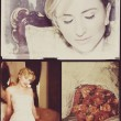 Collage of beautiful blonde bride — Stock Photo #6575774
