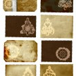 Grunge Christmas cards collage — Stock Photo #6631928