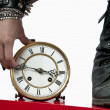 Royalty-Free Stock Photo: Manipulando el tiempo