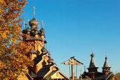 Chiesa di legno — Foto Stock