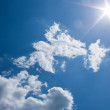 Sun, sky and clouds — Stock Photo #5918408